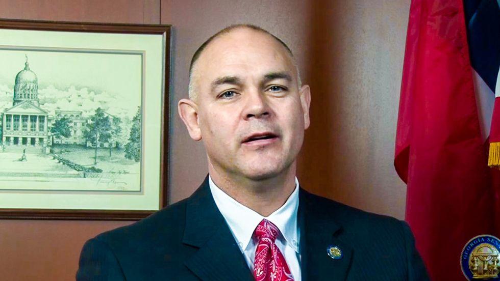 Georgia lawmaker slips in $350,000 tax giveaway for evangelist training school where he is trustee