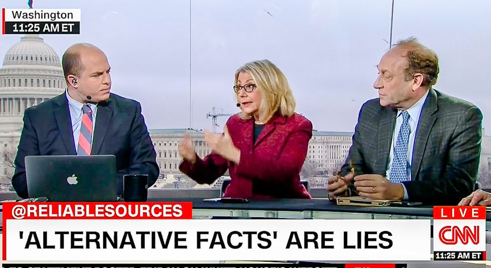'Alternative facts are lies': CNN on-screen graphic destroys Kellyanne Conway in four words