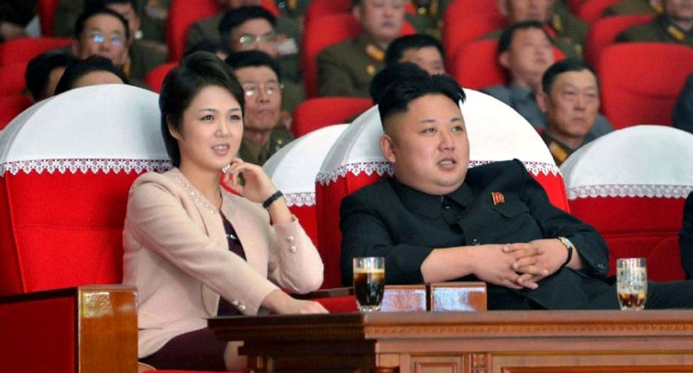 North Korea's first lady Ri Sol-Ju appears in public for first time this year