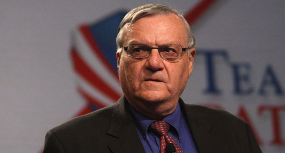 Justice Dept. will now decide on bringing contempt charges against Ariz. Sheriff Joe Arpaio