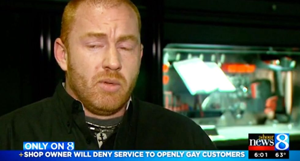 Michigan auto repair shop owner rants on Facebook: No service for gays 'in the name of freedom'