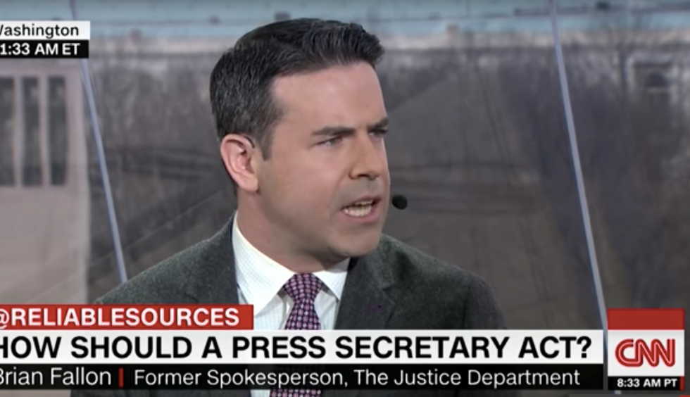 Ex-Justice Dept spokesman: Sean Spicer 'should have resigned' instead of lying at first press conference