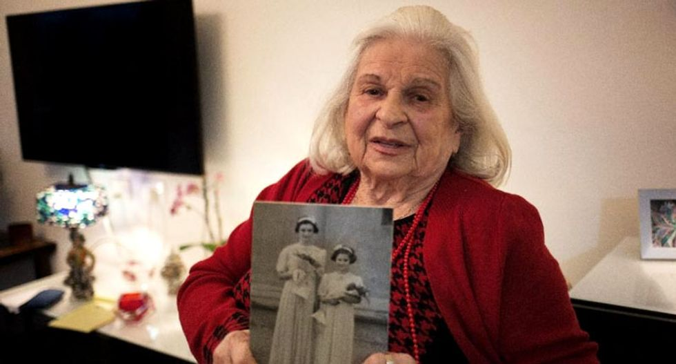 'I wasn't afraid to die. It wasn't about me': Holocaust survivor defied death three times to save her sister