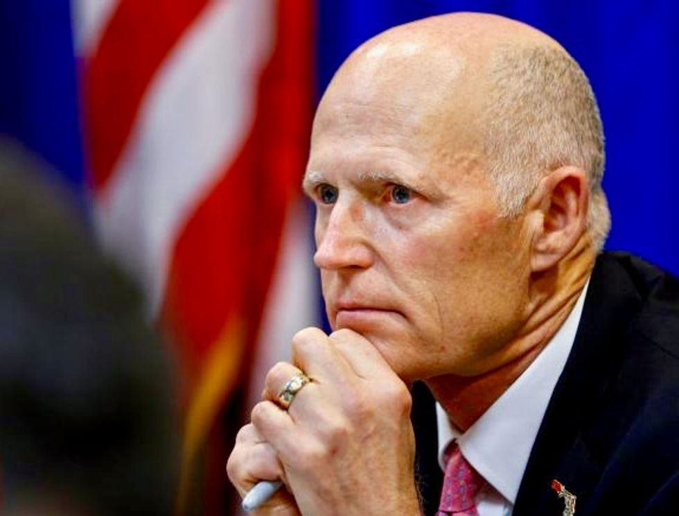 Florida governor orders state troopers to help guard Parkland school