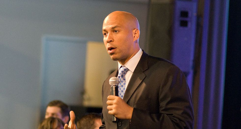 Cory Booker goes off on Trump's AG pick for using 'racist tropes' and denying racial bias in the justice system