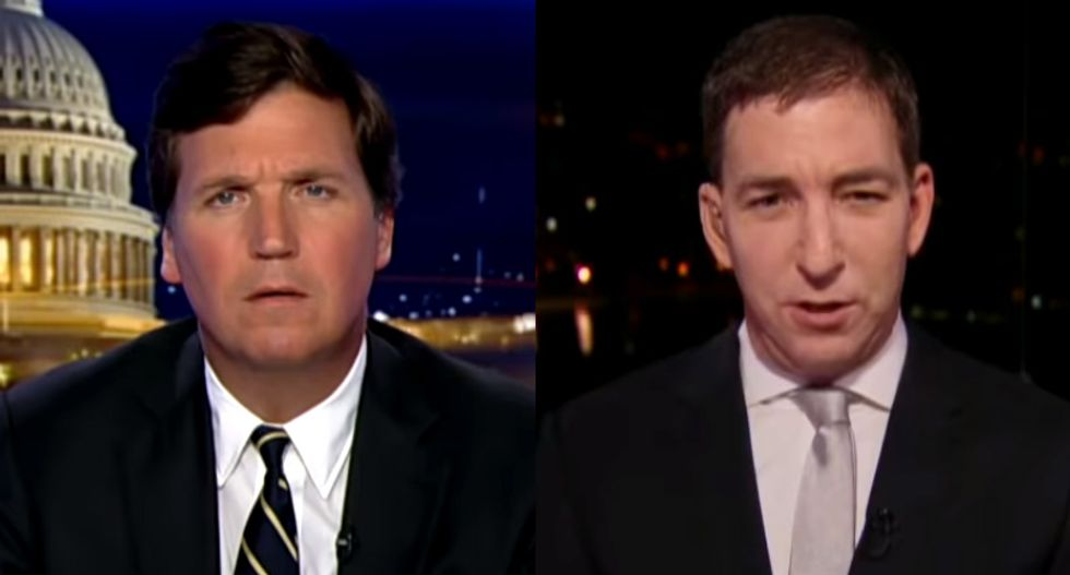 Glenn Greenwald's shameful performance on Fox News shows how he's betraying his own values