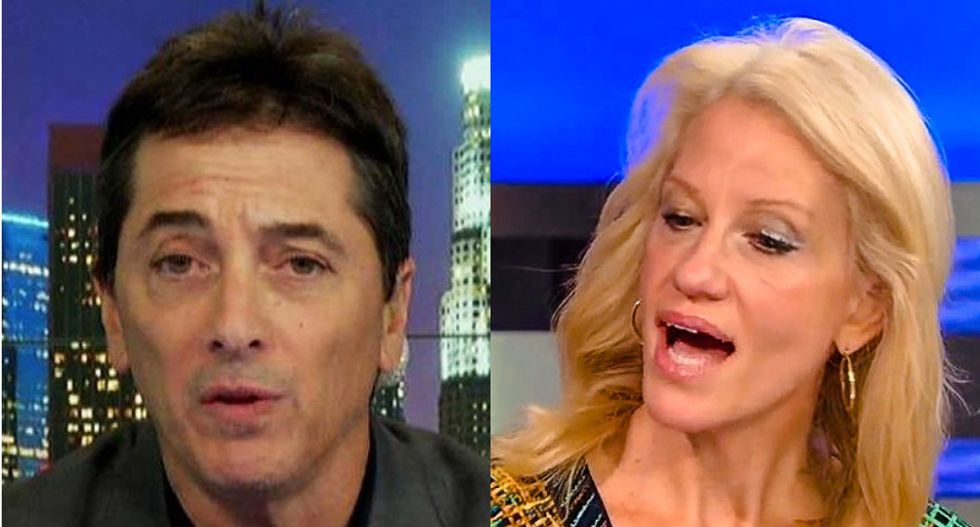 Scott Baio attacked by 'thugs' on inauguration night as Kellyanne Conway brawled at reception: Fox report