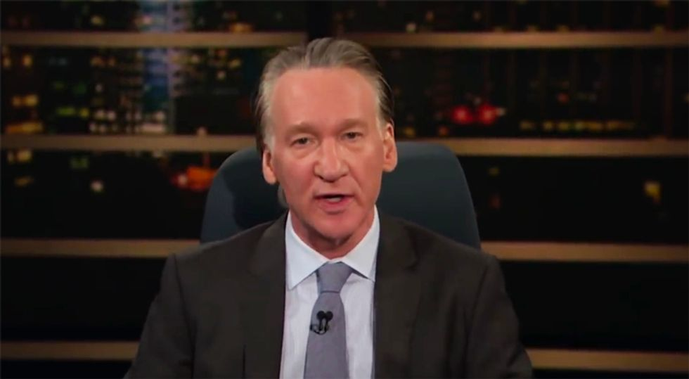'It's an amendment, not a commandment': Watch HBO's Maher hammer lawmakers for bowing down to the NRA