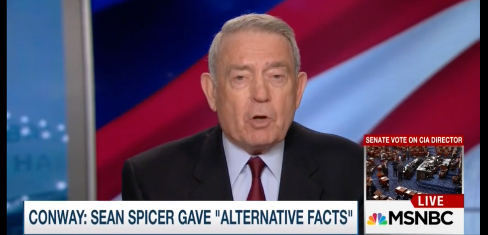 Dan Rather: Trump's 'Nixonian' obsession with crowd sizes undercuts his presidency