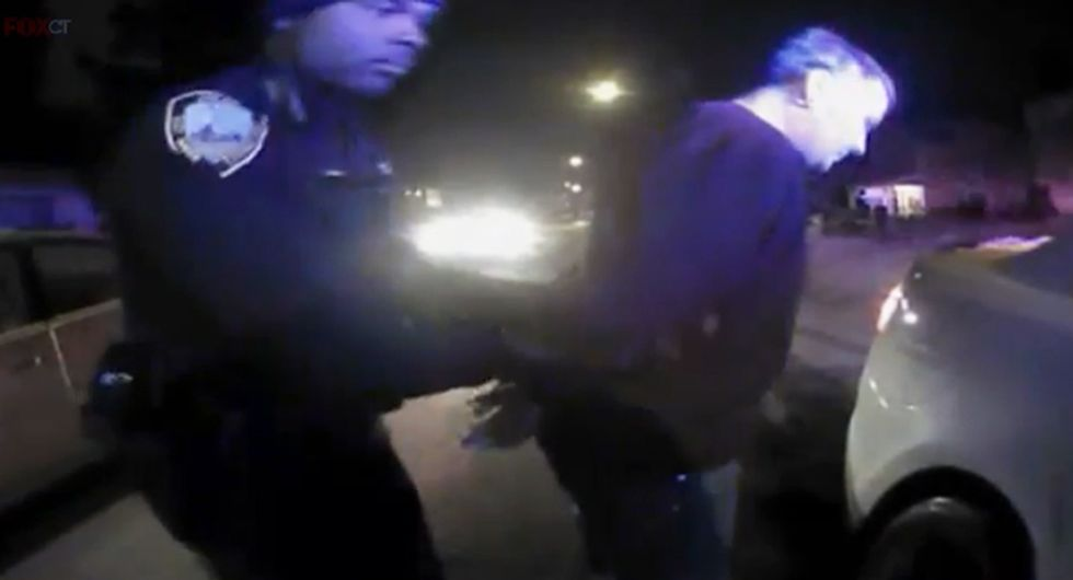 Watch: Body cam video shows Connecticut police had no reason to arrest man for impersonating a cop