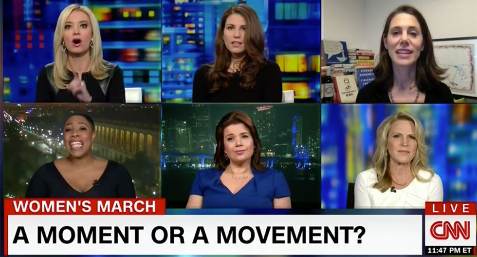CNN panel explodes as Kayleigh McEnany accuses pro-choice groups of 'limiting the rights of women'