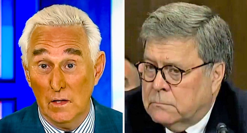 Legal experts shocked as DOJ lawyers rebel against Bill Barr's new Roger Stone sentencing guidelines