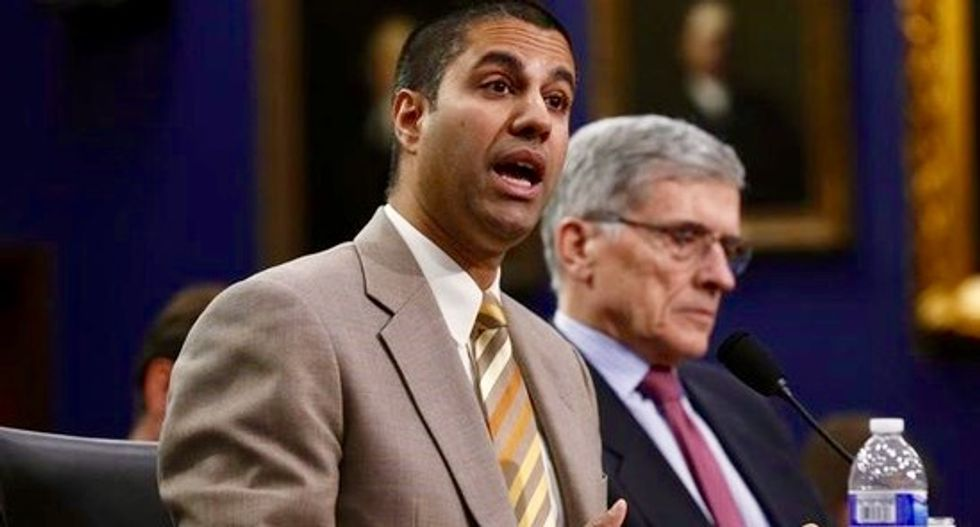 Trump taps net neutrality foe to head FCC