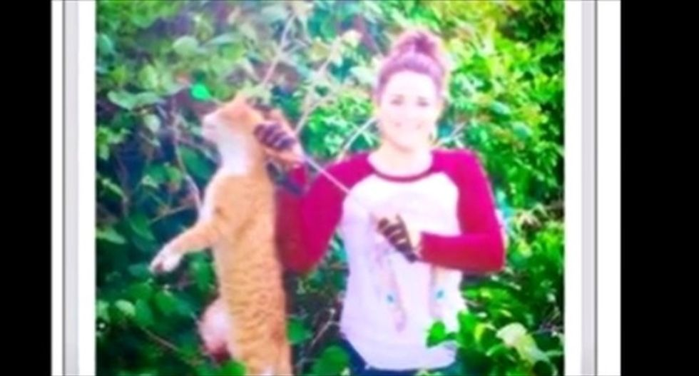 Texas veterinarian fired after bragging online about killing a cat with a bow and arrow