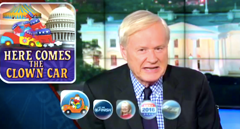 Chris Matthews: Republicans must think their base voters are 'wearing sheets'
