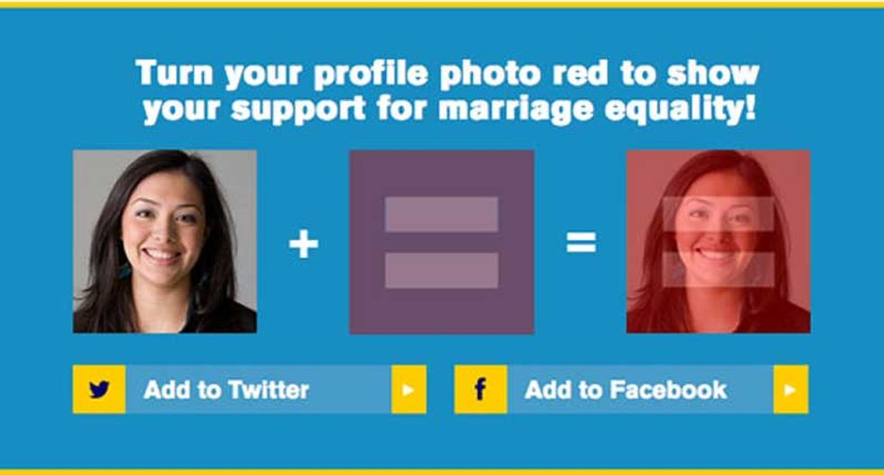 Activist group wants to turn the Internet red by April 28 for marriage equality -- here's why