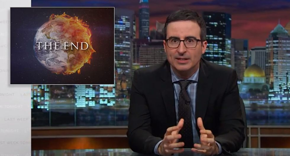 John Oliver: This is probably the video you'll want to watch if the world is ending