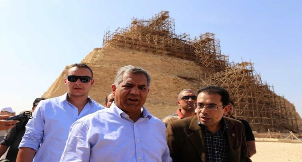 Egypt recovers looted ancient artifacts that were smuggled to US