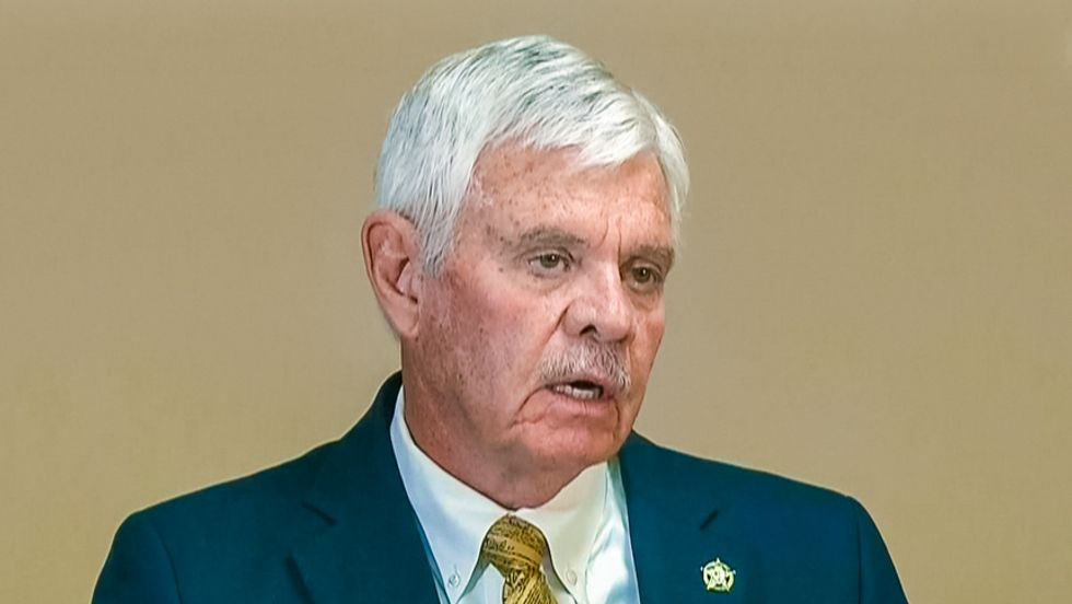 Tulsa sheriff chokes up while defending reserve deputies: First priority 'is to my God'