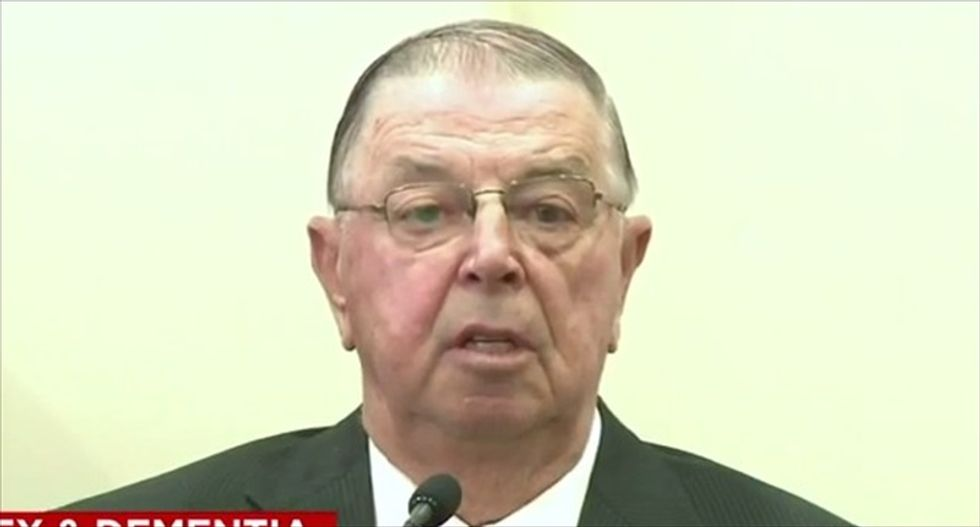 Ex-Iowa legislator found not guilty of sexually assaulting wife suffering from dementia