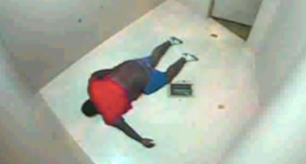 Video contradicts police claims about black man who died in jail cell after arrest for sagging pants