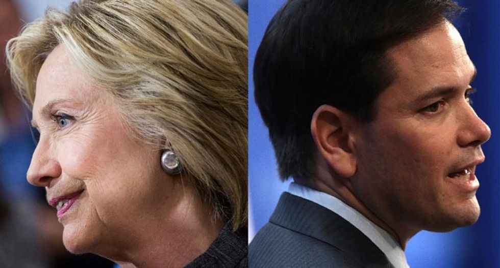 Rubio ready for a Clinton fight: 'How's she going to lecture me' on struggling
