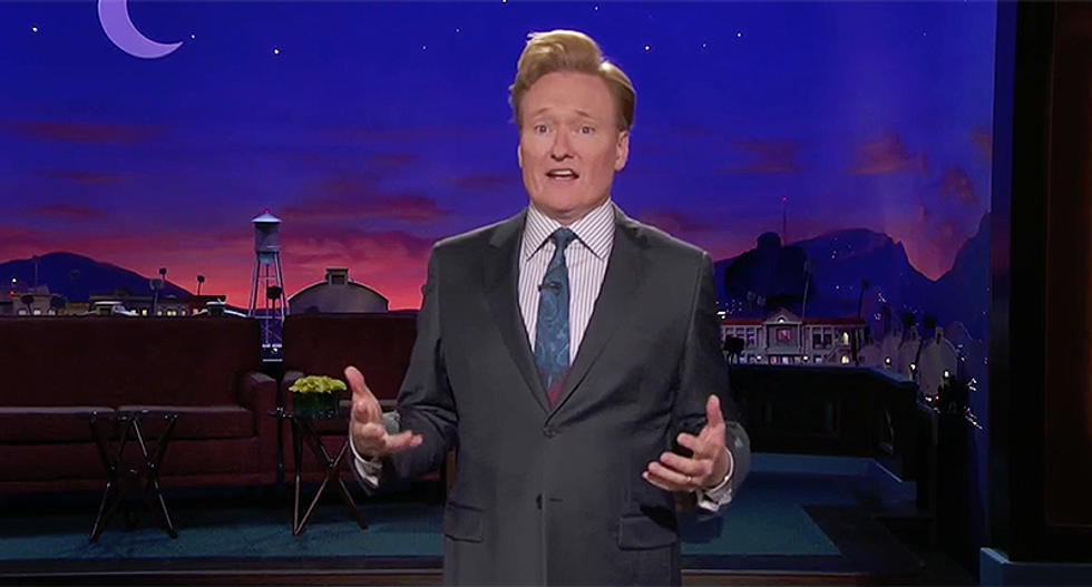 Conan on Roseanne's scripted death: 'Finally a funeral Trump can attend'