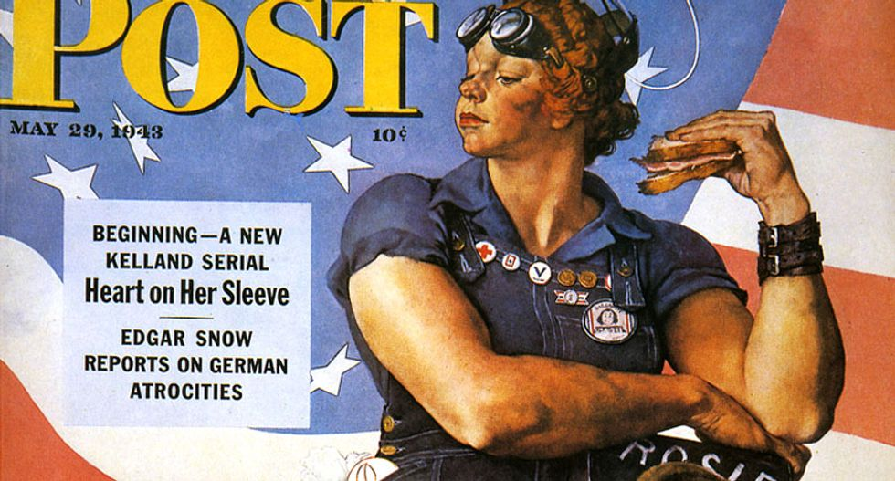 Mary Doyle Keefe -- woman in famed 'Rosie the Riveter' painting --  dies at 92