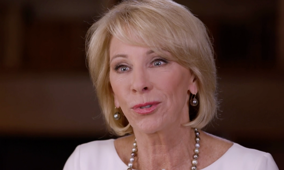 WATCH: Betsy DeVos says she's 'misunderstood,' concedes 'maybe' she should visit a bad public school
