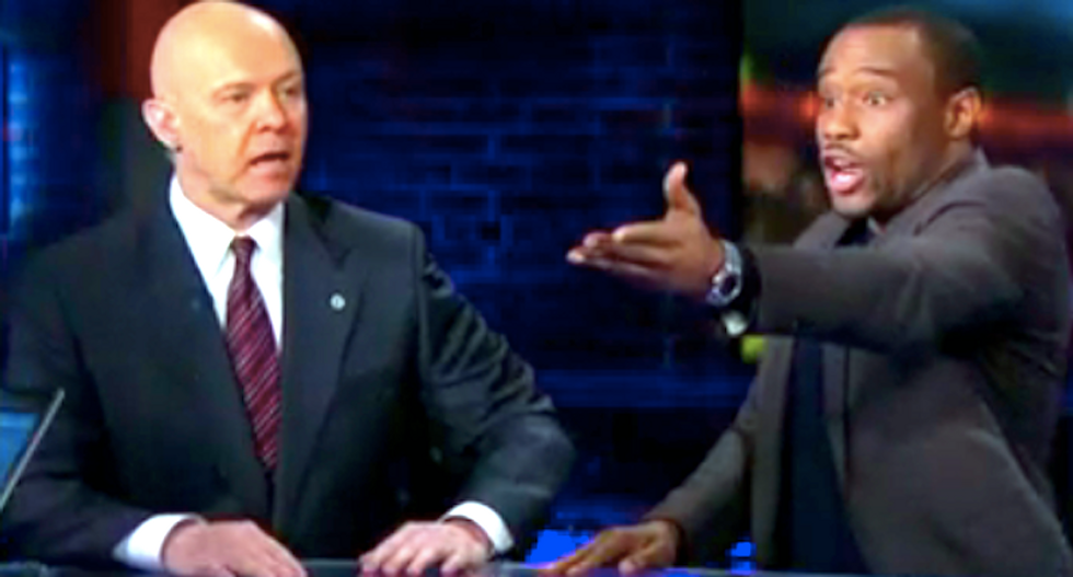 Black pundit rips ex-cop's blind eye to police brutality: 'I'm looking at the trail of dead black people'