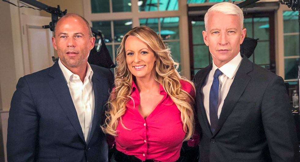'Enjoy Sunday and the days that follow': Stormy Daniels attorney hypes evidence ahead of 60 Minutes