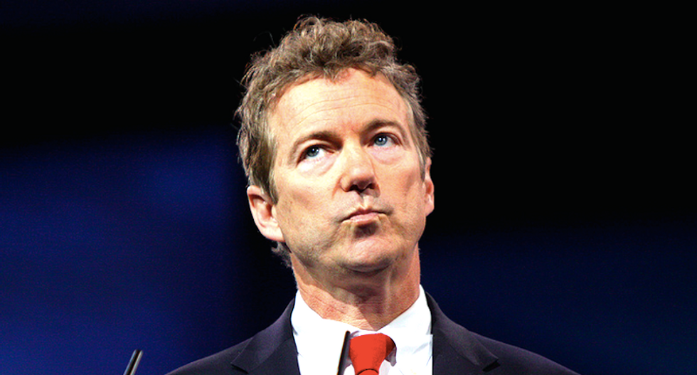 Twitter hammers Rand Paul after he whines that the GOP base prefers 'reality star' Trump