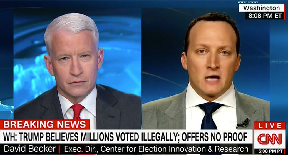 'Not supported by the evidence': Pew study author shoots down Trump over 'false' voter fraud claims