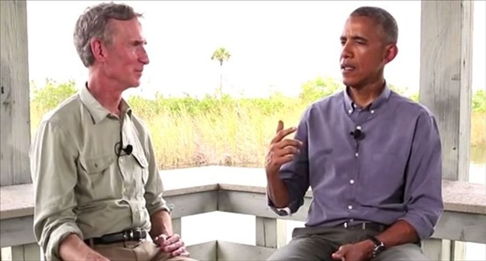 Obama and Bill Nye rip climate deniers in Congress using 'I'm not a scientist' excuse