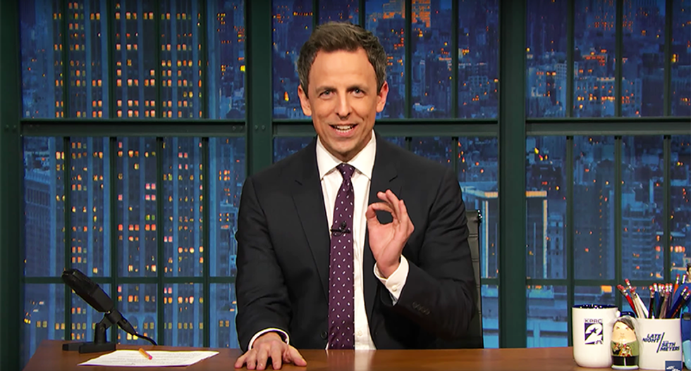 Seth Meyers shreds false vote claims: Inauguration crowd proves Trump can't count a million people