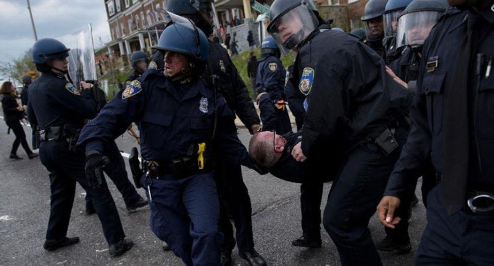 Baltimore officer who beat unarmed black suspect during arrest gets 6-month jail sentence