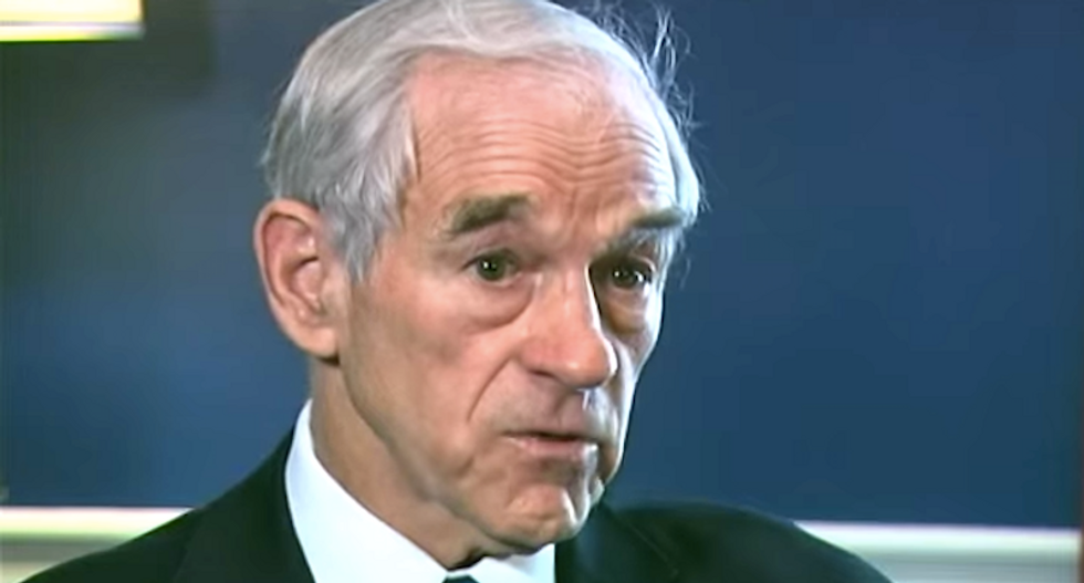 Ron Paul shares racist and anti-Semitic 'cultural Marxism' cartoon — then deletes it minutes later