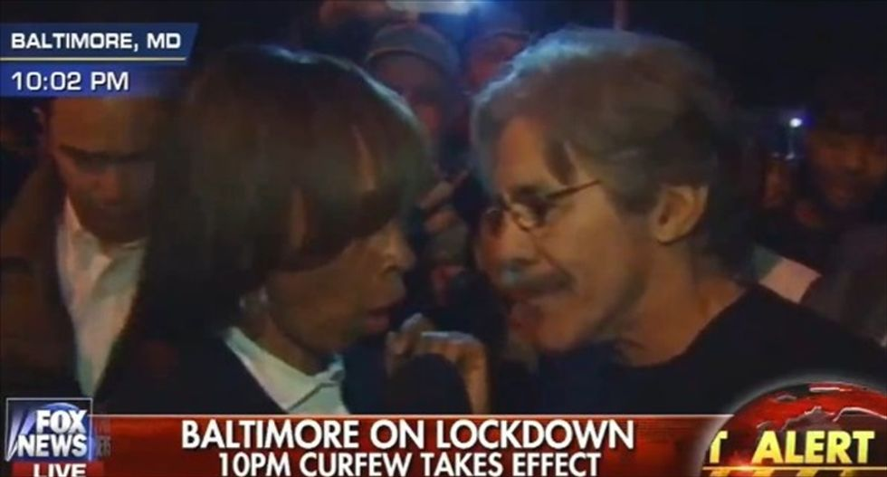 Lawmaker scolds Geraldo Rivera: We need media to stop 'inciting' Baltimore protesters