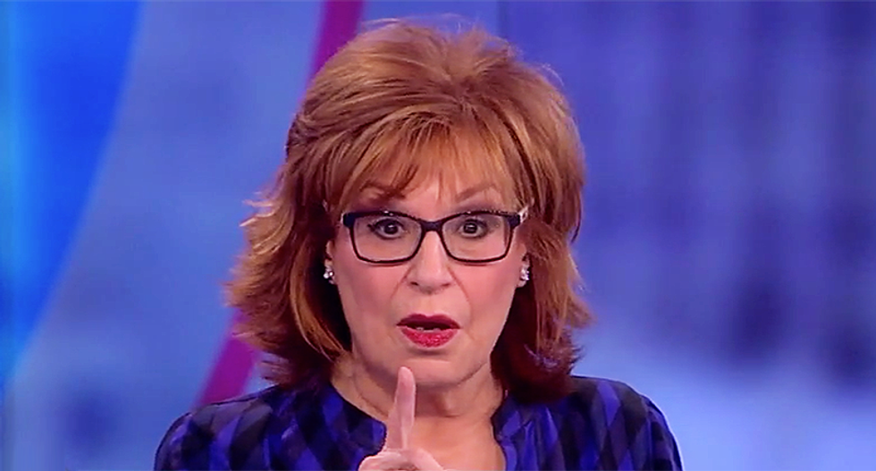 Joy Behar zaps Trump for obsessing over Matt Lauer: 'He's just like mad King George in the White House'