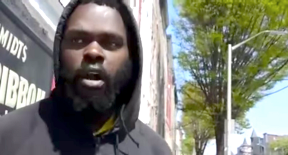 Man who recorded Freddie Gray's arrest taken into custody after complaining of police harassment