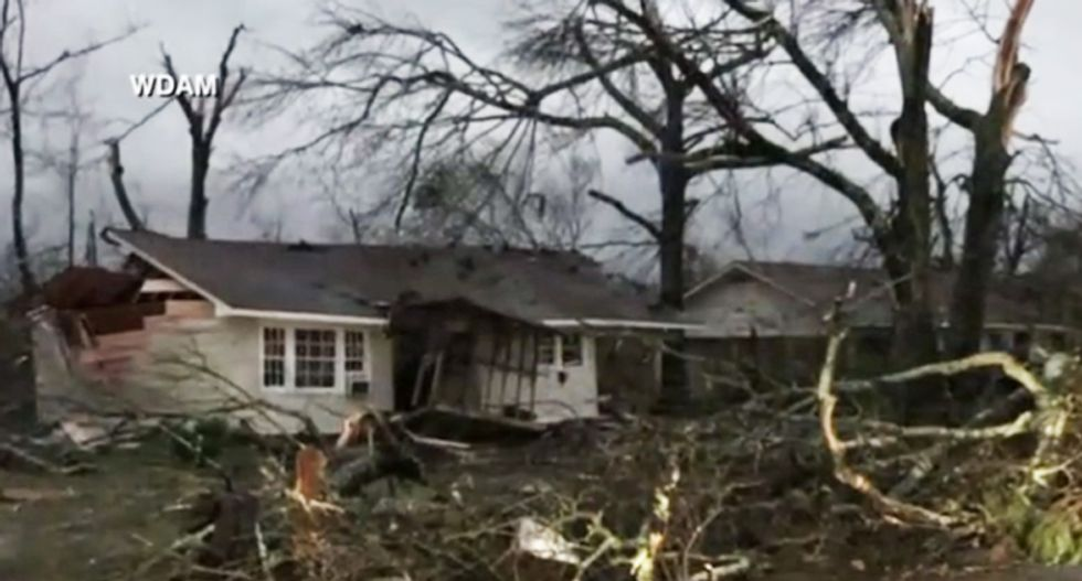 Tornado-ravaged Mississippi still waiting on disaster relief after Trump promises to 'expedite the process'