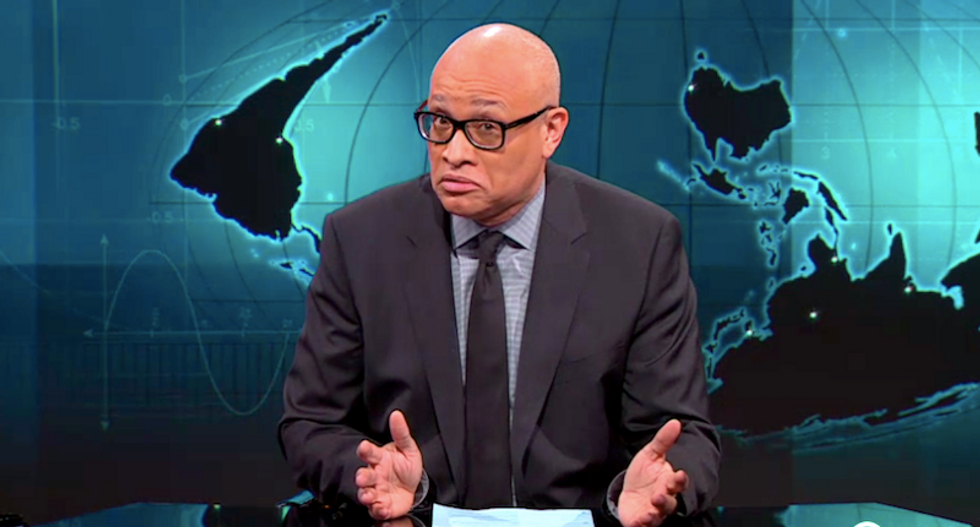 Larry Wilmore rips Fox and CNN for 'thug' debate: 'Here's an N-word' for you — 'news'