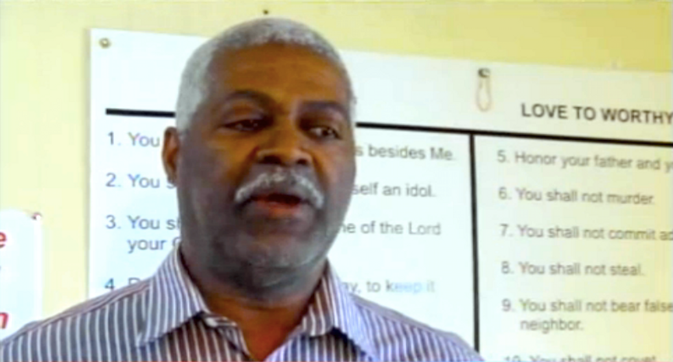 Georgia pastor defends death to gays sign: Don't change marriage for 'people who deserve not to live'