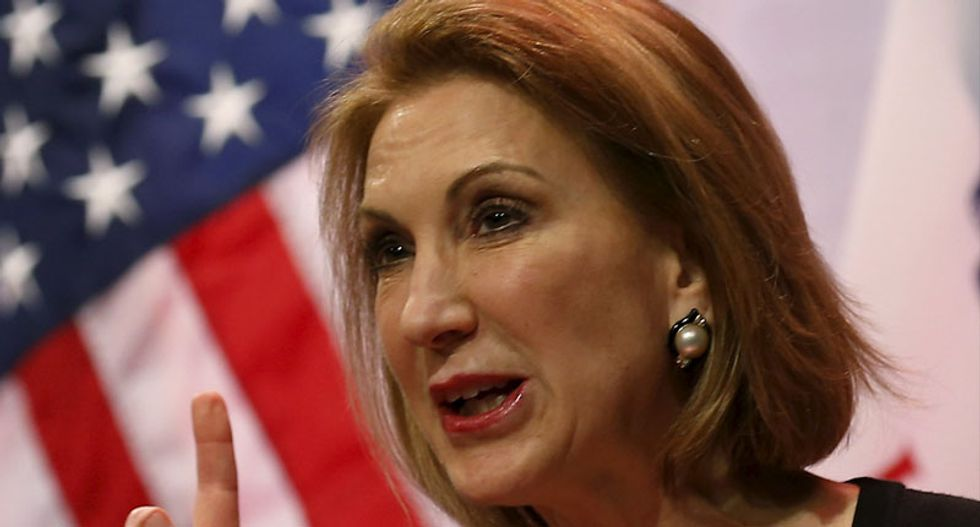Former CEO Carly Fiorina enters White House race: 'I understand the world'