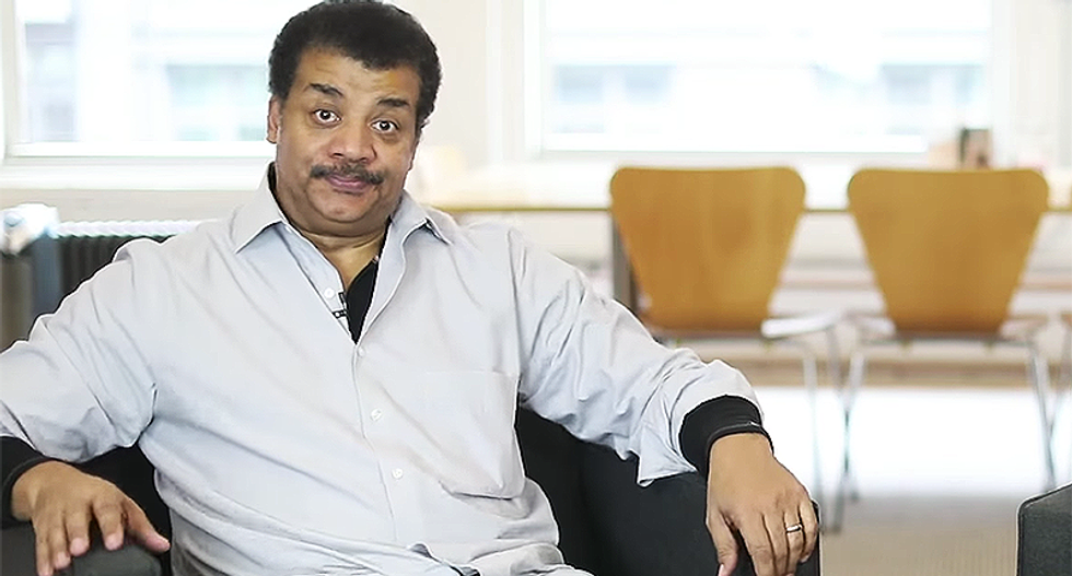 Science professor calls Neil deGrasse Tyson the N-word in rant denying atom bombs and the moon landing -- then insists he's not racist