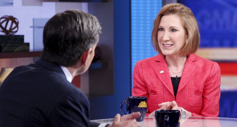 Presidential candidate Carly Fiorina defends Hewlett-Packard tenure: 'It was a tough time'