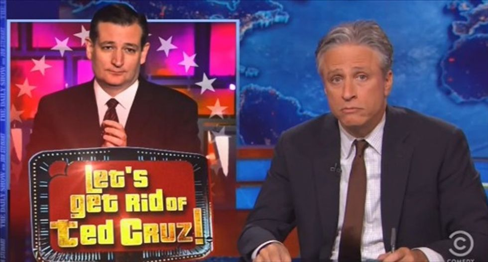 Jon Stewart's quick fix for the Republican clown car: 'Let's get rid of Ted Cruz'