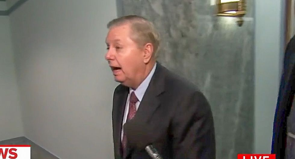 Lindsey Graham whines to CNN he feels 'completely betrayed' by Saudis
