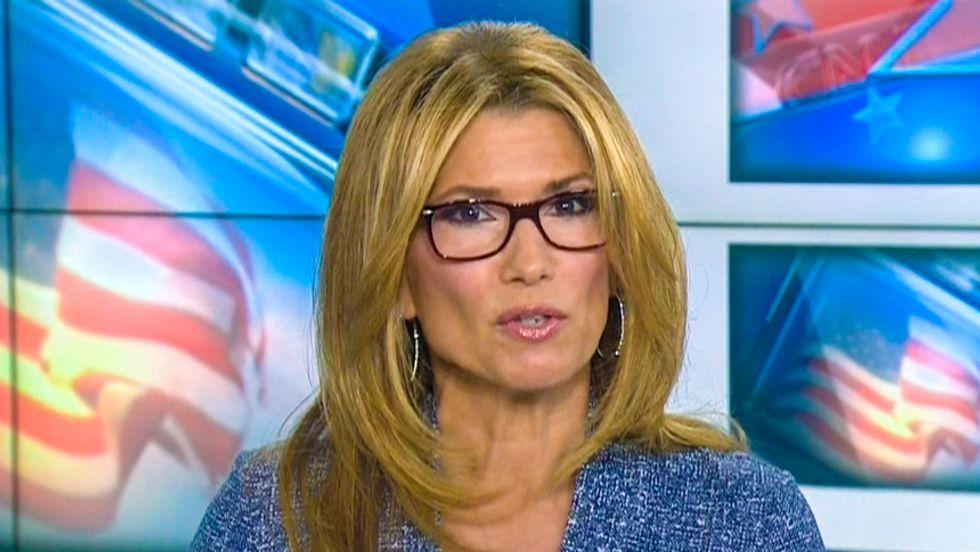 CNN host hypes Hillary Clinton and Carly Fiorina presidential bids as 'weird girl fight'