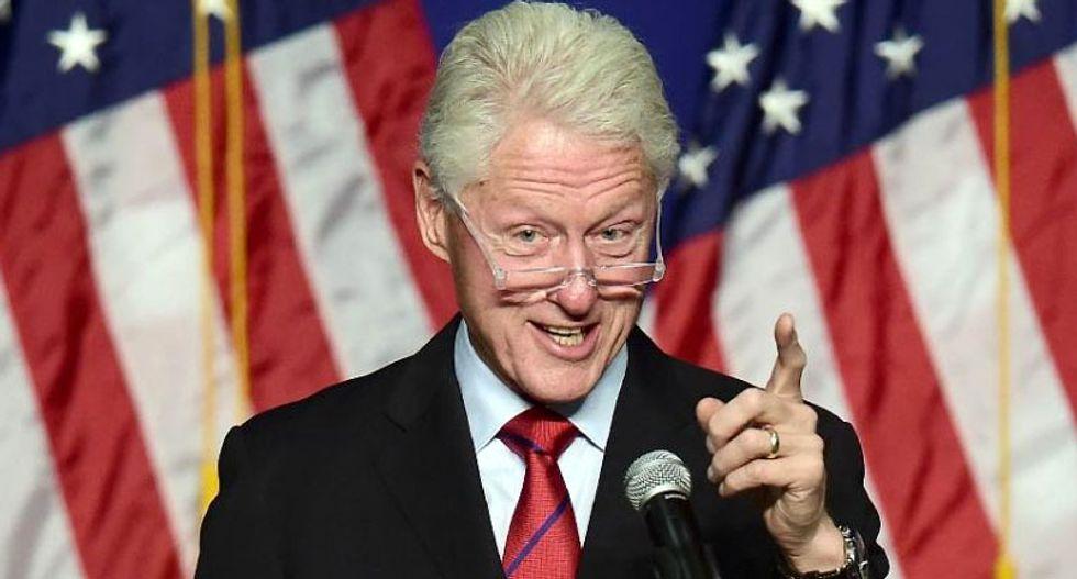 Bill Clinton paints candidate Hillary as 'changemaker'